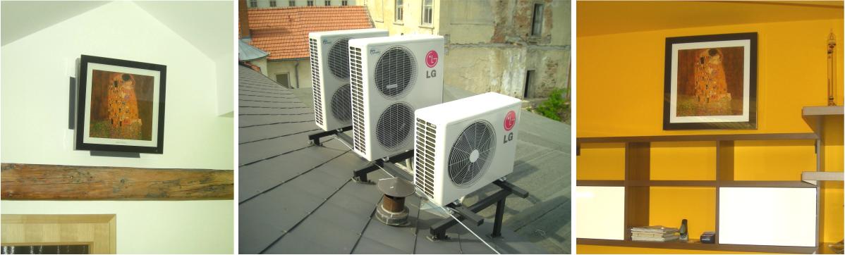 Klimatizace do bytu, domu i kanceláře