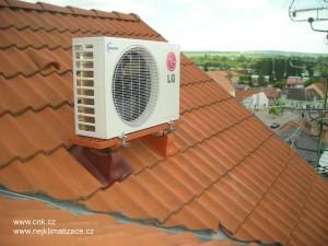 Venkovní klimatizační jednotka LG.