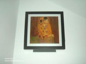 Luxusní klimatizace s imitací obrazu světového malíře Gustava Klimta